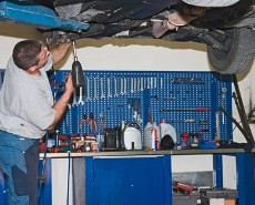 Man Working on Car, Auto Repair in Sherman Oaks, CA